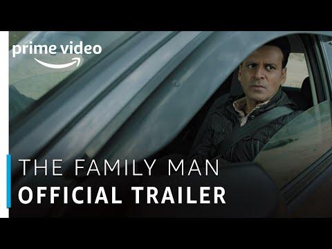 The Family Man – Official Trailer | Raj & DK | Manoj Bajpayee | Amazon Original | Watch Now
