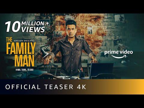 The Family Man Season 2 - Official Teaser 4K | Raj & DK | Manoj Bajpayee, Samantha | Amazon Original
